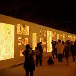 2013年 弘前城雪燈籠まつりの大雪像作りがはじまりました!