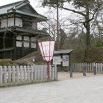 弘前公園の入り口(出入口)・お手洗い・喫煙所