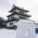2014年弘前雪灯篭まつり 最終日昼の様子(写真でご紹介)
