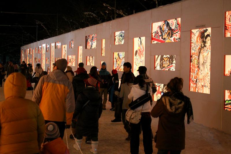弘前城雪灯籠まつり 2014