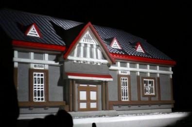 2014年弘前城雪灯籠まつり プロダクションマッピング