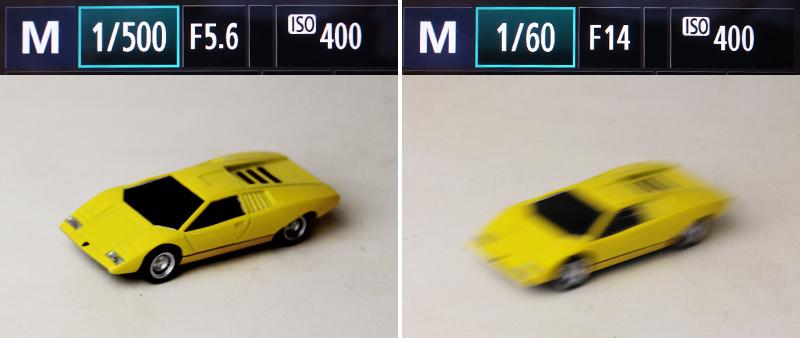 シャッタースピード検証