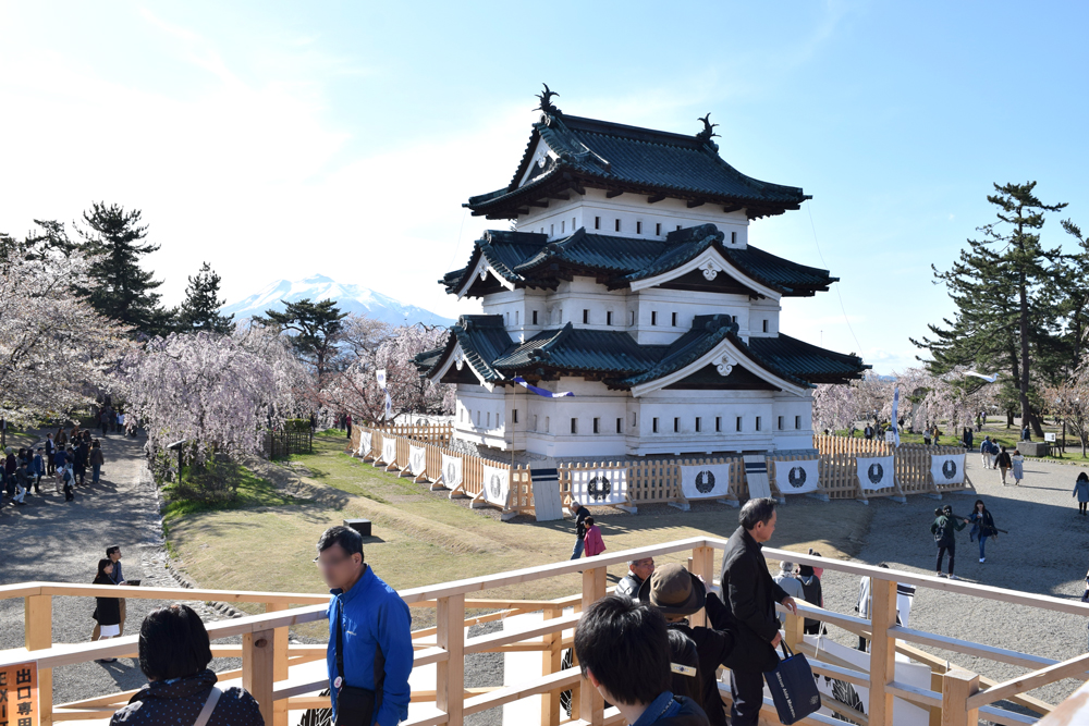 弘前城・本丸