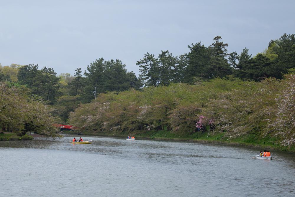 弘前公園・西濠 ボート
