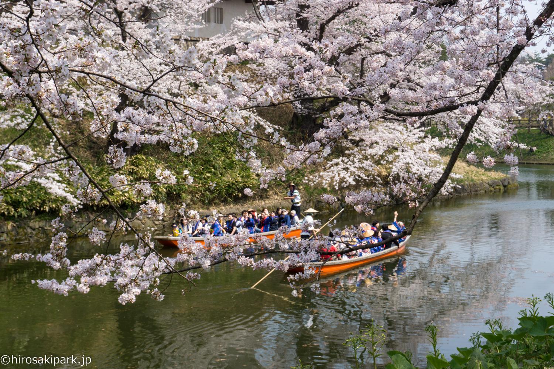 弘前公園 (2018年4月22日 撮影)