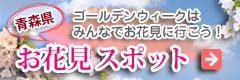 青森県のお花見スポットのご紹介