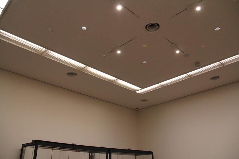 弘前市立博物館リニューアル 施設見学会の様子