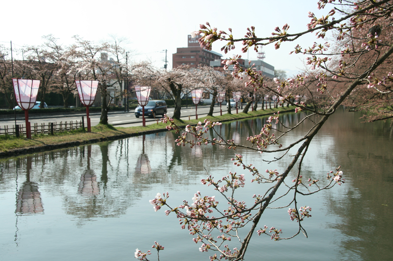 弘前城外濠