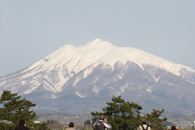 弘前の岩木山