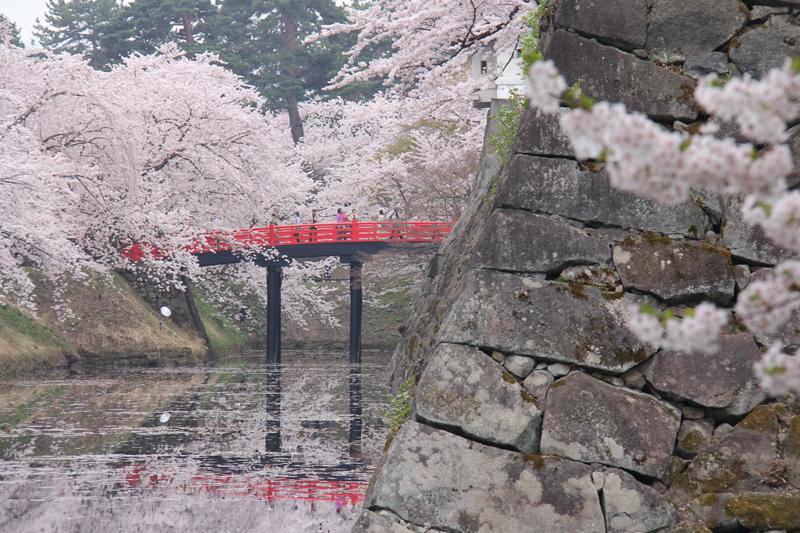弘前城の石垣
