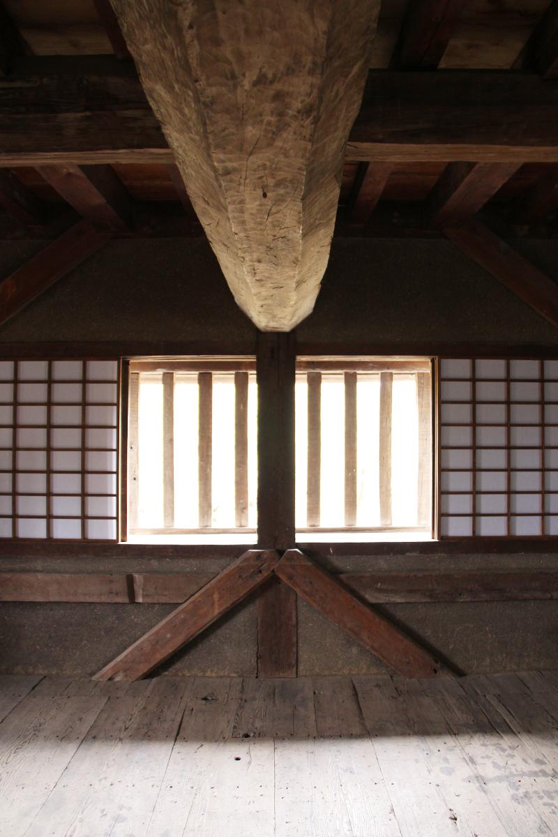 【期間限定】重要文化財 弘前城二の丸辰巳櫓 一般公開
