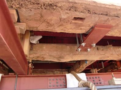 弘前城・天守の裏側
