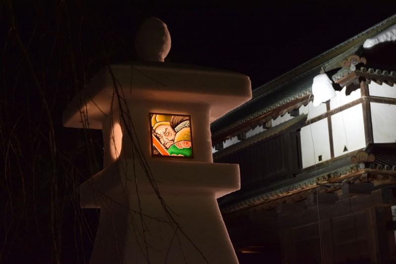 弘前公園 東門の様子