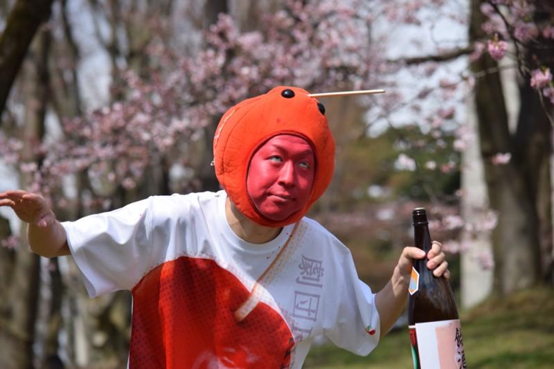 弘前公園 飲みすぎ注意
