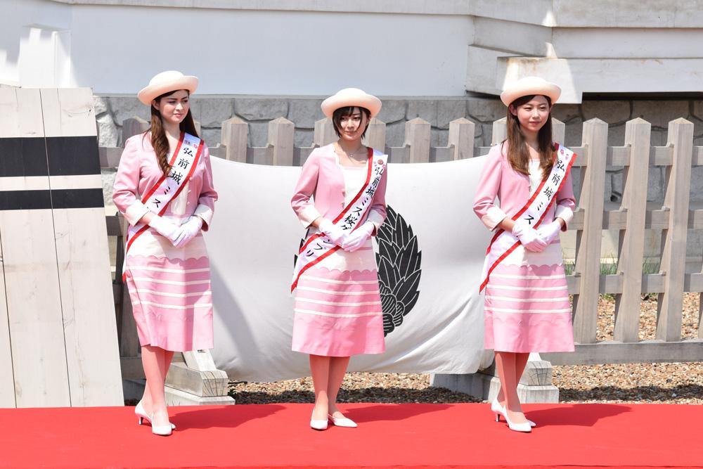 弘前城ミス桜