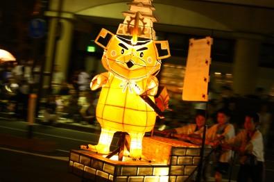 築城400年祭たか丸くんねぷた