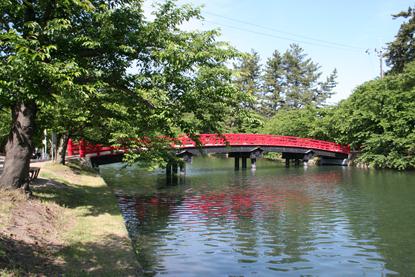 弘前城の橋