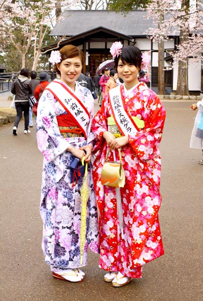 2013年弘前さくらまつり ミス桜