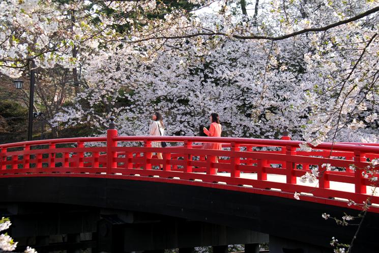 弘前公園・弘前城 橋