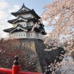 弘前城天守閣の中を見学