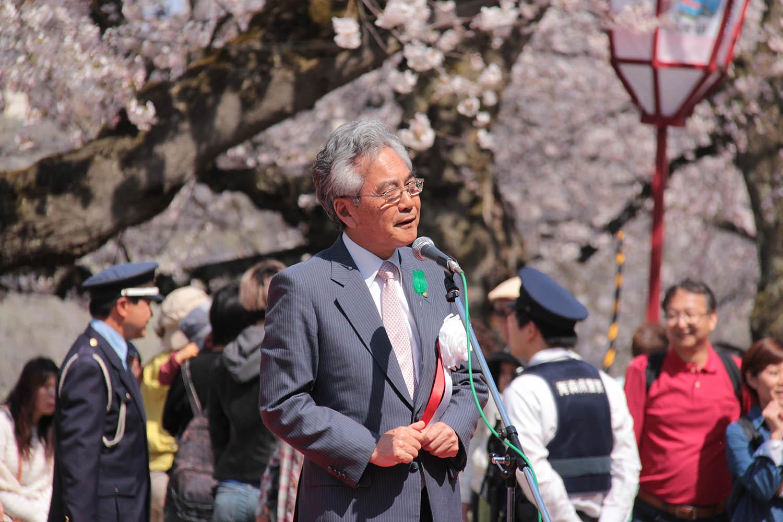 弘前さくらまつり開会式 葛西市長挨拶