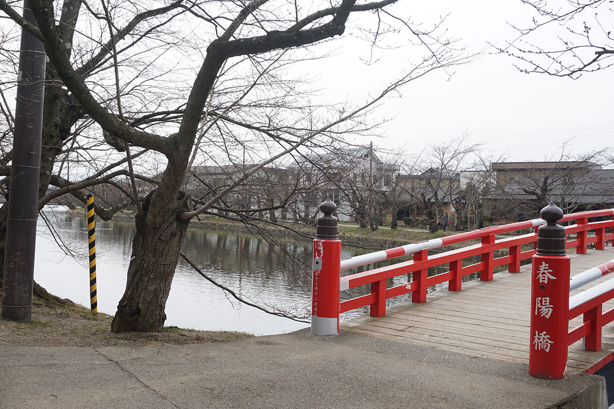 弘前公園 春陽橋