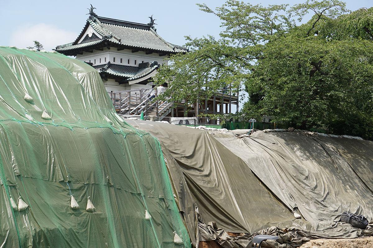 2018年8月11日「弘前城本丸石垣修理体験イベント」開催