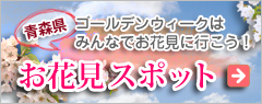 青森県のお花見スポット